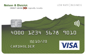 Nelson district credit union nelson district credit union visa low rate business card reheart Image collections